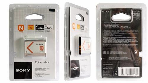 bateria  camara digital sony np-bn1 tipo n nuevas de paquete