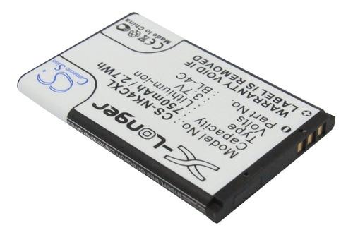 bateria cameron nokia bl-4c 1661 1662 3620 3650 6620 6600