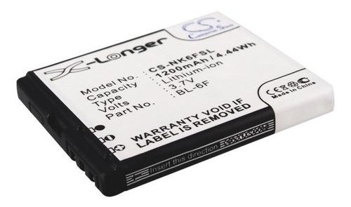 bateria cameron nokia n78 n95 8gb n79 bl 6f bl-6f 1200mah