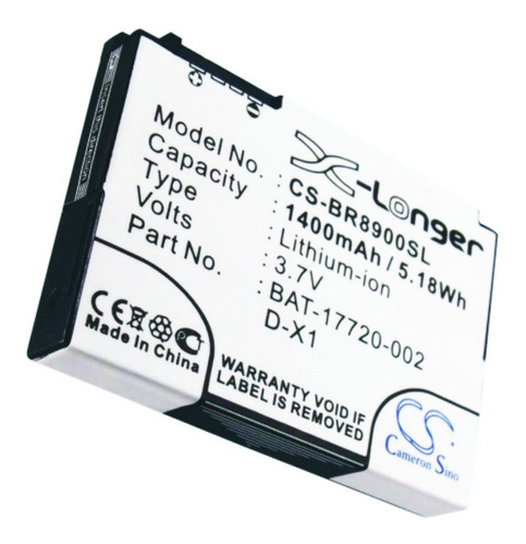 bateria cameron para blackberry 9500 d x1 8900 9500 9530 nnv