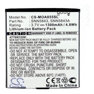 bateria cameron sino motorola a855 milestone quench bp6x a954 a956 a957 cliq 2 mb200 mb220 xt mb501 me722 xt720 a853