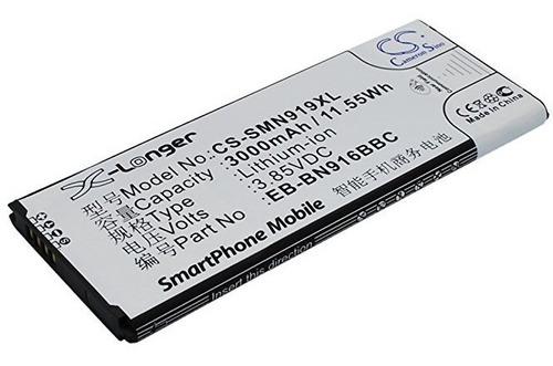 bateria cameron sino samsung galaxy note 4 n9106w n9108 nnv