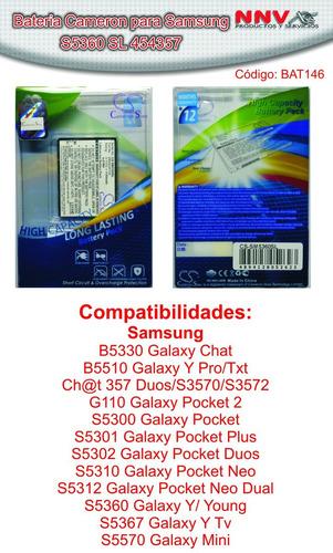 bateria cameron sino samsung galaxy s5360 s3568 s3580 s5300