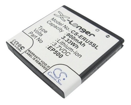 bateria cameron sony ericsson ep500 e16 st17 u5 vivaz pro w8