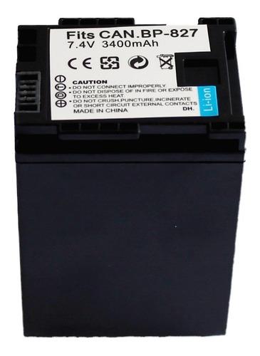 bateria canon bp 827