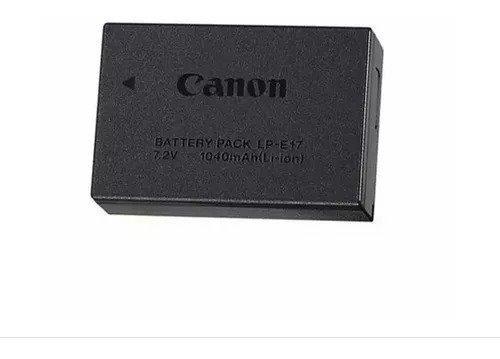 bateria canon lp-e17 lacrado blister t6s t6i lpe17 original