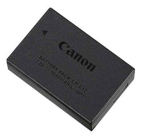bateria canon lp-e17 original nova na embalagem com garantia