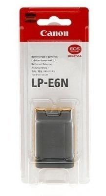bateria canon lp-e6n 80d eos 5d mark iv iii ii 70d original