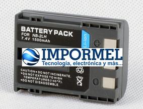 Batería Cargador USB doble para Canon NB-2L 2LH EOS 350D 400D S30 40 S5 50 55