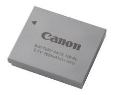 bateria canon nb 4l para powershot sd30 sd40 sd300 sd450