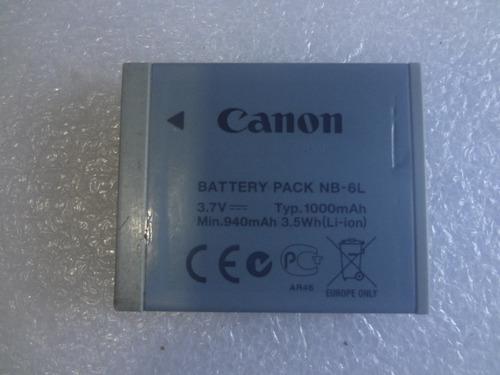 bateria canon nb 6l  100% funcional  10 verdes