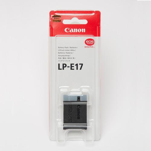 bateria canon original lp-e17 lacrado pronta entrega