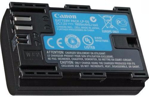 bateria canon original lp-e6