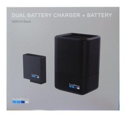 bateria + cargador doble original gopro hero 5 - 6 y 7 black