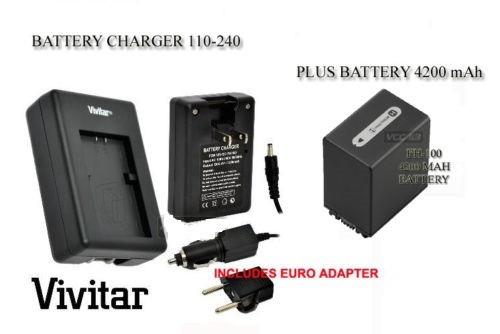 bateria+cargador para sony np-fh70 np-fh50 np-fh100