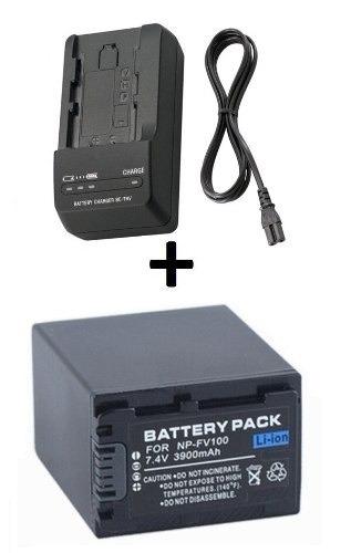 bateria carregador filmadora sony