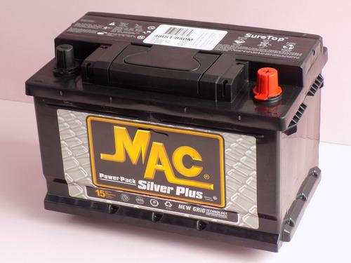 batería carro auto mac silver pack 48 850 garantía 15 meses