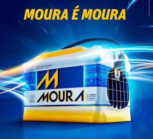 bateria carro automo moura 60 ah belo horizonte/mg e região
