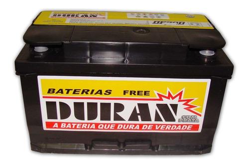 bateria carro duran 70ah 12v sem manutencao com visor carga