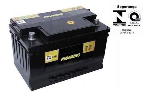 bateria carro pioneiro 75ah 12v omega taurus tucson f1000