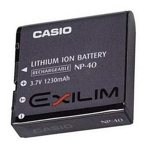 bateria casio exilim np-40 li-ion original recarregável