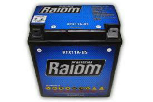 bateria cb 400/450  selada raiom 6 meses garantia