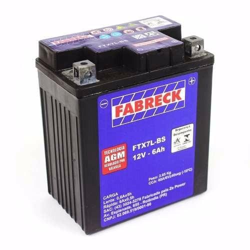 bateria cbx 250 twister nx 250 titan 150 es/esd nx125 até 90