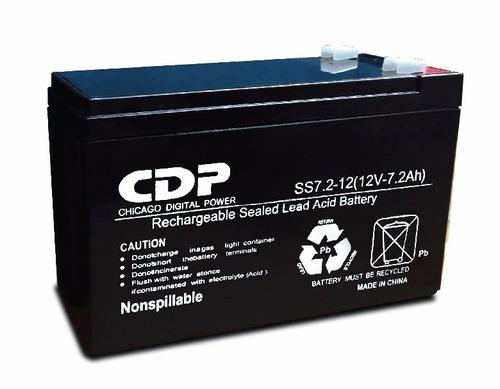 batería cdp 12v-7.0ah p/ ups icb technologies