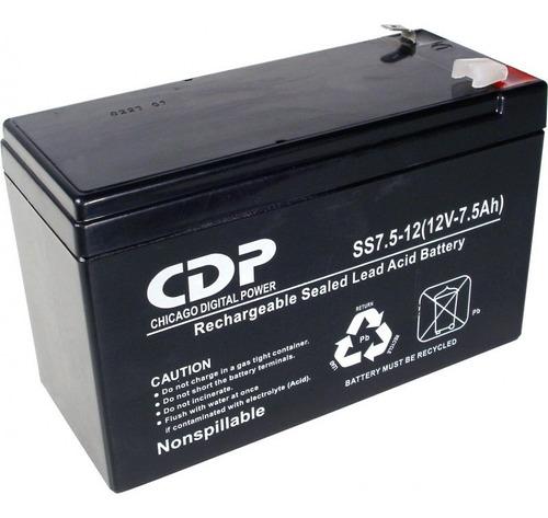 batería cdp para ups 12v 7ah icbtech