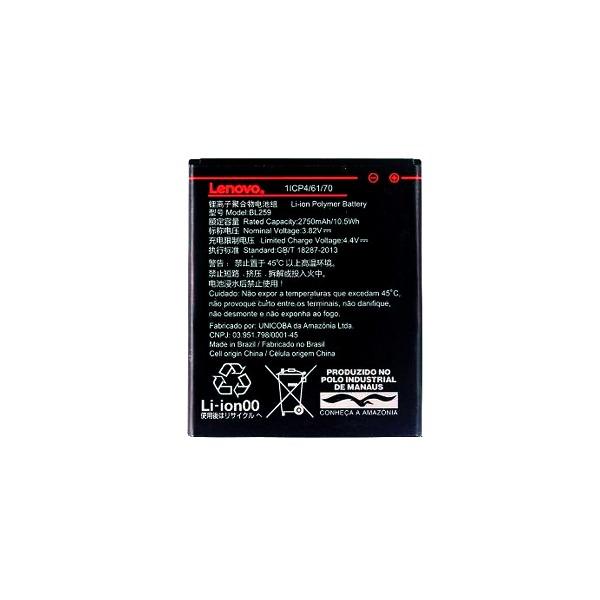 40faceba848 Bateria Cel Lenovo Vibe K5 A6020 Bl-259 - R$ 61,69 em Mercado Livre