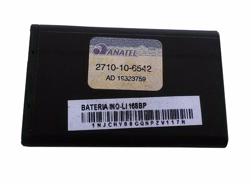 bateria celular cce mobi 168bp 3,7v 1000mah - lote 10 pçs