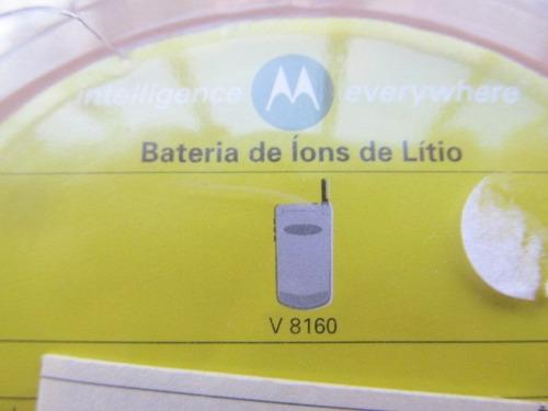 bateria celular motorola v810 seminovo arte som