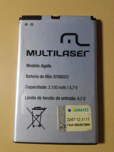bateria celular multilaser ágata btnb1022 original