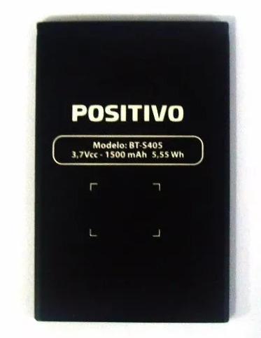 bateria celular positivo ypy s405 3,7v 1500mah bt-s405 novo!