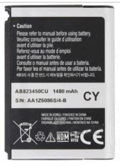 bateria celular samsung sch-m480 (ab823450cu)