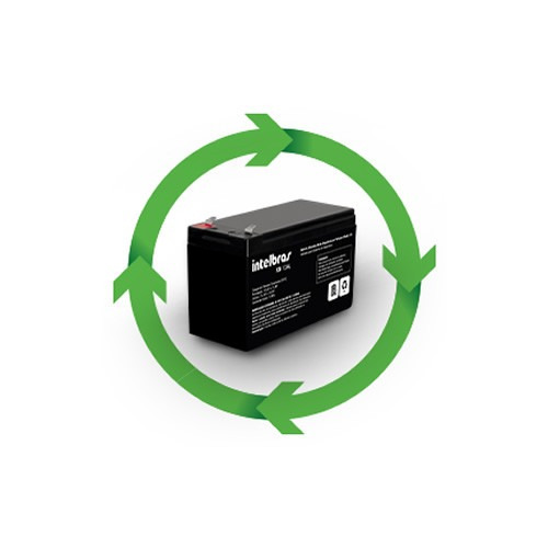 bateria central alarme intelbras 12v xb 12al qualidade full