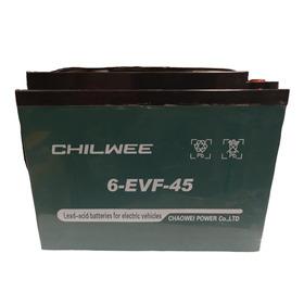 Batería Chilwee Ácido Plomo 12v 45ah Recargable Original