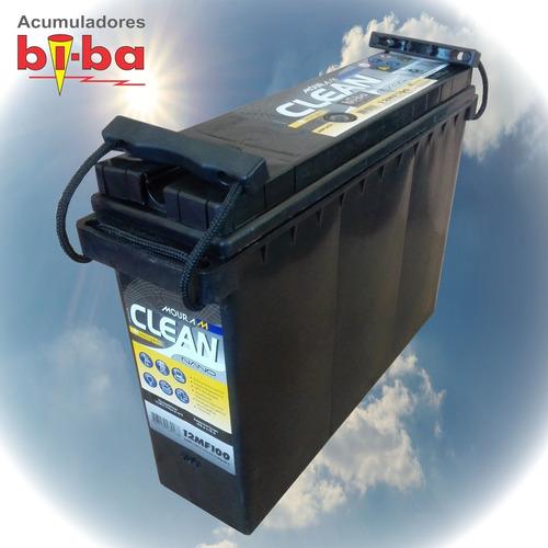 batería ciclo profundo moura clean 12 v.100 ah, 12mf100