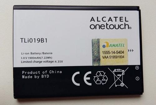 bateria com garantia original alcatel tli019b1 1900mah