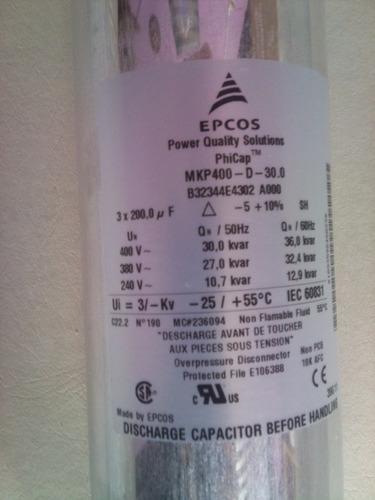 bateria ,condensador para reactiva 10,7 kva