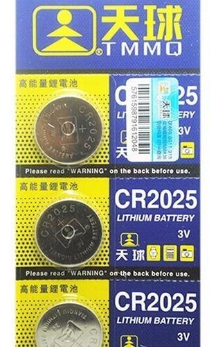 bateria cr2025 nueva 3v pack x5