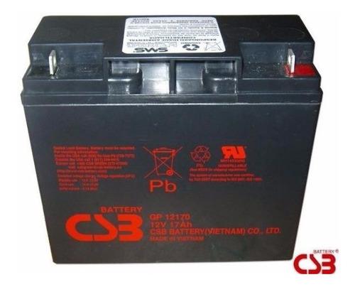 bateria csb 12v 17ah p\ nobreak apc sms-original nova