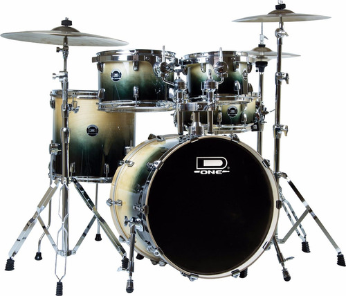 bateria d one fusion 100% birch df-20 02 tons - hendrix