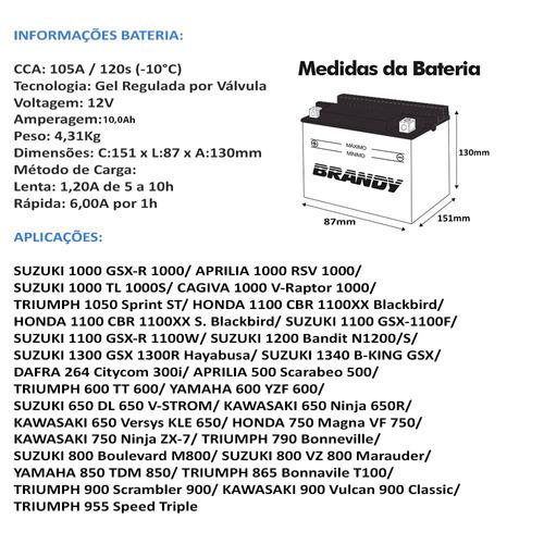 bateria dafra 264 citycom 300i original gel gtx12