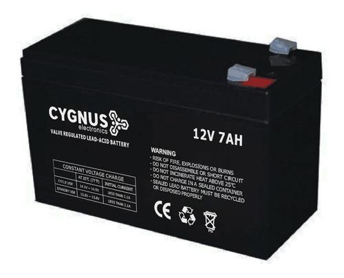 batería de 12v 7ah recargable marca cygnus
