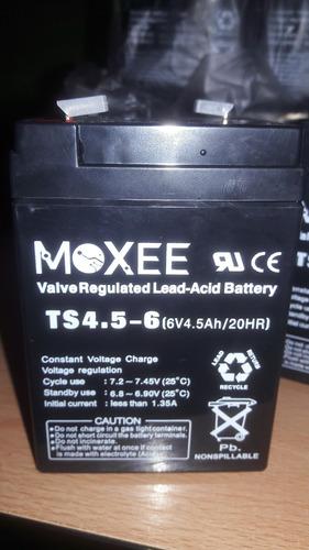 bateria de 6v 4 amp. nuevas para lamparas de emergencia, etc