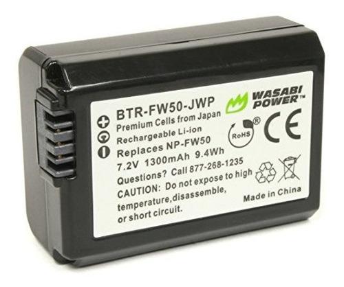 bateria de alimentacion wasabi para sony np-fw50 (compatible
