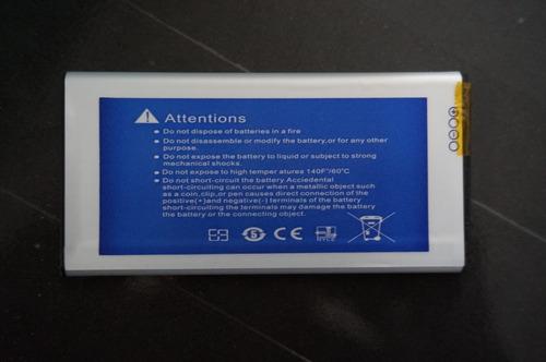 bateria de alta capacidad samsung s5 4500mah 3.85v max 4.4v