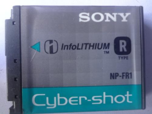 bateria de camara sony np-sr1  (tipo r)