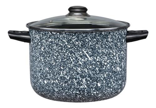 batería de cocina 10 piezas cinsa granito mármol blanco